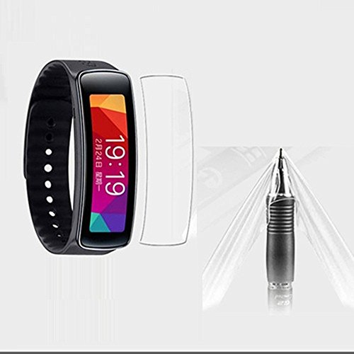 Interesting®5 x klare Screen Protector Film-Folien-Saver für Samsung Gear passen R350 5 Klar Screen Protector