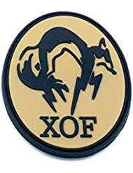 XOF Foxhound Metal Gear Solid PVC Airsoft Velcro Patch