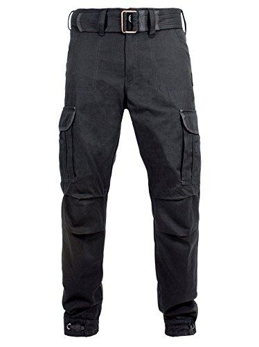 Preisvergleich Produktbild John Doe KAMIKAZE CARGO Hose Regular Cut mit DuPont Kevlar® Faser - schwarz Größe 34/34
