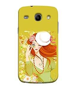FUSON Designer Back Case Cover for Samsung Galaxy Core I8260 :: Samsung Galaxy Core Duos I8262 (Baby Couples Nice Quotes Happy Lovely Hard Kisses )