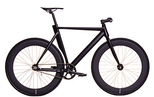 FK Cycling Bicicleta Fixie Aluminio derail rd70 Negra