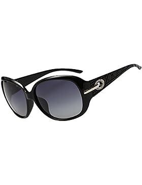 Donna tonalità classico Duco oversize occhiali da sole polarizzati 100% protezione UV 6214