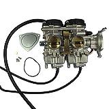 Lidahaotin Vergaser Ersatz für 2001-2005 Yamaha Raptor 660 660R YFM660 YFM 660R CARB Motorrad Motorzubehör