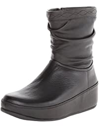 FitFlopZip Up Crush (Leather) - Botas mujer