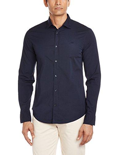 GAS JEANS ANDREW/8 NEW 0194 Camicia uomo maniche lunghe cotone logo ricamato slim fit Uomo