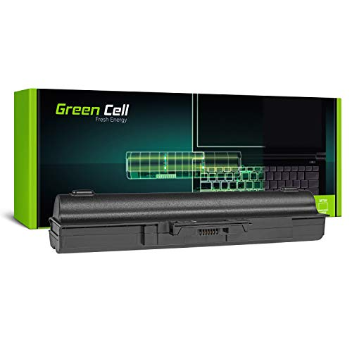 Green Cell Extended Serie VGP-BPS13 VGP-BPS13/S VGP-BPS13/B VGP-BPS13/Q VGP-BPL13 VGP-BPS21 VGP-BPS21A VGP-BPS21B Laptop Akku für Sony Vaio (9 Zellen 6600mAh 11.1V Schwarz)