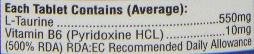 HealthAid L-Taurine 550mg – 60 Tablets