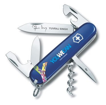 Victorinox Limited Edition YouWeCan in Blister Blue Swiss Army Knife...