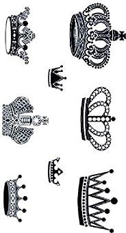 Crown Stickers Temporary Tattoo Waterproof Unisex