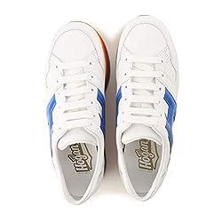 Hogan Maxi H222 Zapatillas zapatos sneaker sneakers shoes de Caucho para Mujer Woman Blanco White Size 40 EU