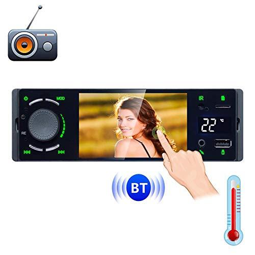 ll Touchscreen 1 Din Spiegel Link Autoradio MP5 Video Player Unterstützung Bluetooth USB AUX Audio Stereo ()