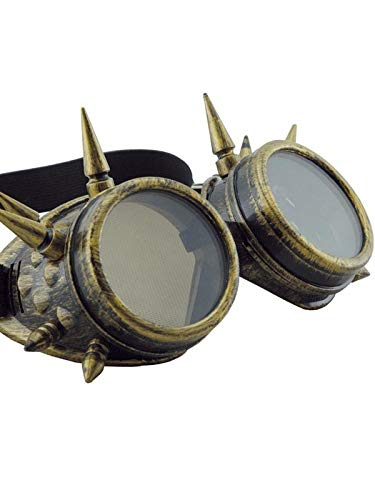 DISBACANAL Gafas Steampunk Pinchos