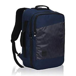 Vuelo Aprobado Llevar en la Mochila de Negocios de Fin de Semana Bolsas de Viaje Mochila 28 litros Azul Oscuro-1