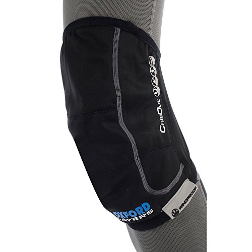 Preisvergleich Produktbild Oxford ChillOut Windfest Knie-wärmflasche - Schwarz, Medium