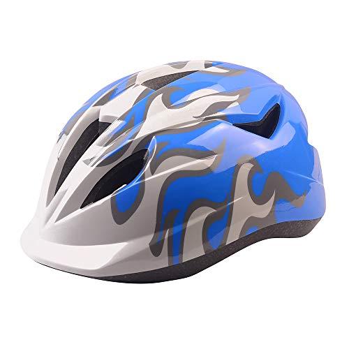 Athyior Fahrradhelm Kinder Einstellbar Stirnband Bike Helmet 4-12 Jahre Jungen Mädchen Radhelm für Roller Skateboard Fahrrad 50-54cm