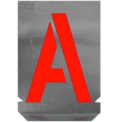 HaWe 2313845 Signierschablonen-Satz Buchstaben 40mm