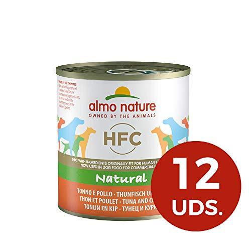 almo nature HFC Naturel Thon et Chicken- Wet Nourriture pour Chien (Lot de 12x 280g Boîtes)