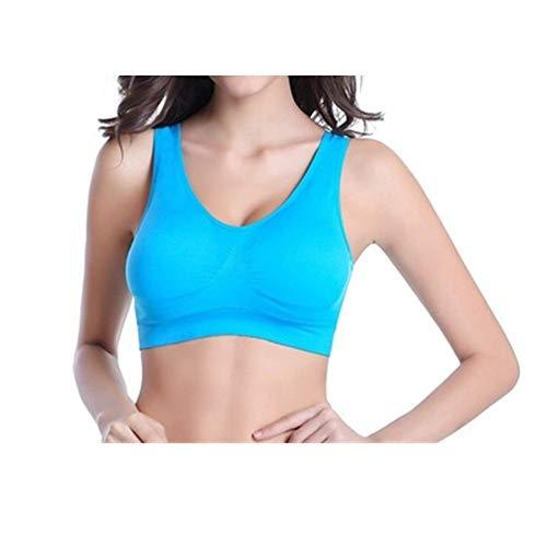WSJIABIN Sport BH Damen Komfort Klassische Sport BH Top Fuer Yoga Fitness-Training AR gepolsterte Unterwäsche 10 s 65 Größe No Wire-Edge Bras -