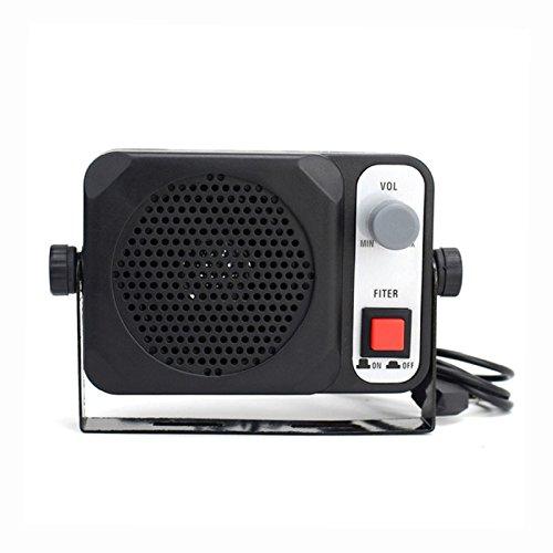 SODIAL TS-650 Mini Externe Lautsprecher ts650 Fuer Yaesu Kenwood ICOM Motorola Ham Radio CB HF Transceiver Auto Walkie Talkie - Ham-radio-lautsprecher