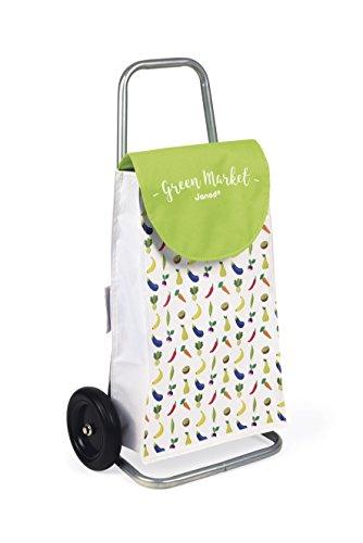 Janod - J06575 - Chariot de Course Green Market