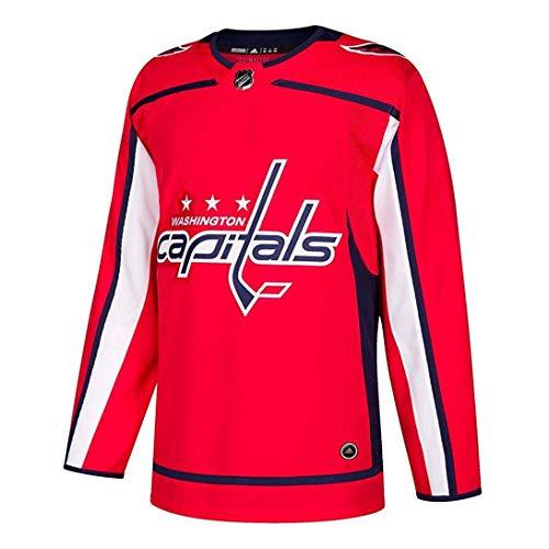 MJLXY NHL Hockey Trikot Washington Capitals Eishockey Trikot Langarm T-Shirt 2018 Neue Saison,Rot,XL