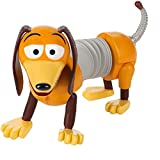 Disney GFV30 Pixar Toy Story 4 Dog Slinky Figure in Movie-Inspired Scale for Realistic Storytelling Play, Multicolour