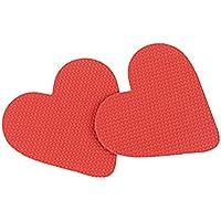 dontdo 1 Paar Frauen Grid Frosted Love Heart High Heel Anti-Rutsch Schutzsohlen Aufkleber, einfach zu verwenden... preisvergleich bei billige-tabletten.eu