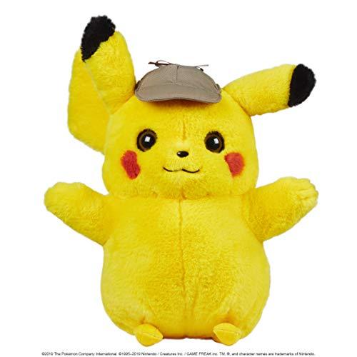 Boti Europe B.V. 35801 Pokémon - Peluche de Pikachu Detective (Aprox. 40 cm, Multicolor