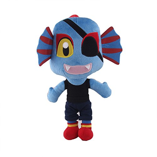 Undertale Undyne Plush Soft Toy Doll For Kids Gift
