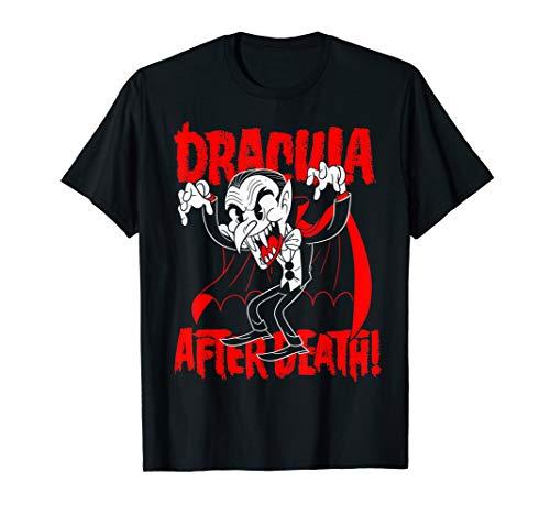 Blackcraft Dracula nach dem Tod Cartoon Style Old-Timey T-Shirt