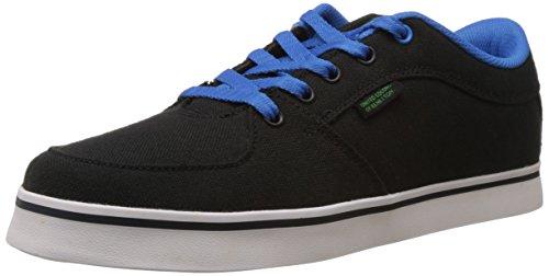 United Color of Benetton Men's Black (700) Canvas Sneakers - 7 UK/India (41 EU)