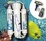 Umkehrosmoseanlage Osmoseanlage Wasserfilter Entsalzer Leitwert Aquarium U05-FBA
