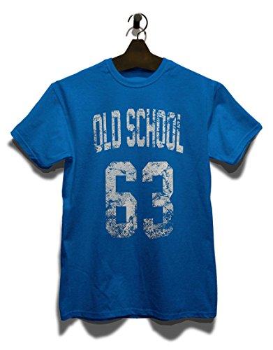 Oldschool 1963 T-Shirt Royal Blau