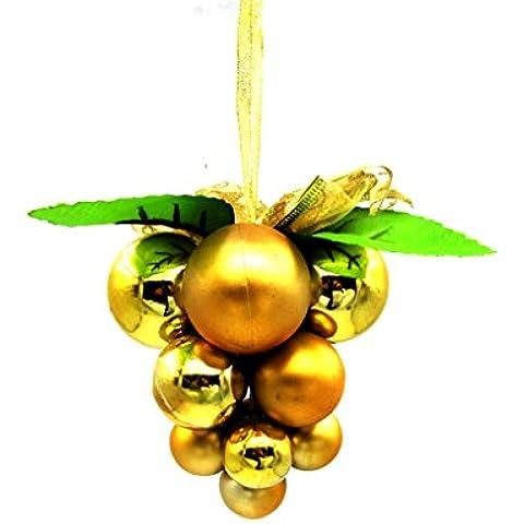 Vollter Decorazione di natale decorazioni tetto uva regalo di Natale forniture ornamenti palla di stringa