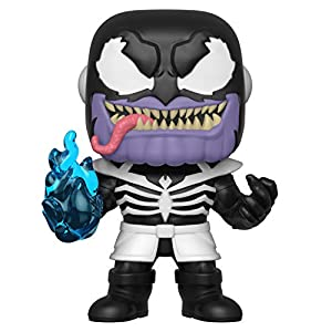 Funko- Pop Bobble: Marvel: Venom S2-Thanos Figura Coleccionable, (40705)