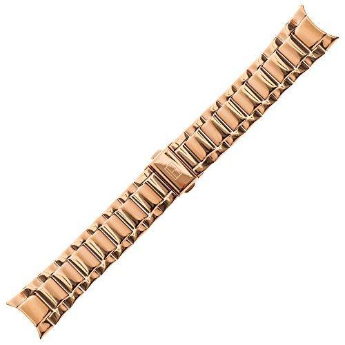 Tommy Hilfiger Uhrenarmband 20 mm Edelstahl Gold Rosegold - Uhrband 679001136