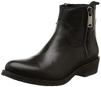 Inuovo Kicking, Boots femme - Noir (Black/Nickel Acc), 36 EU
