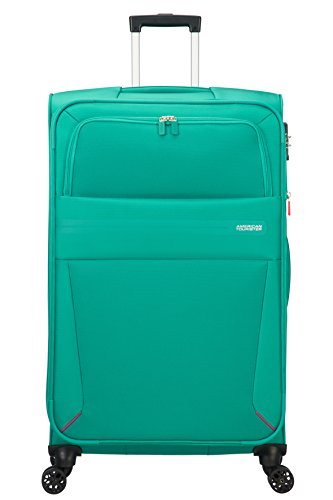 American Tourister Summer Voyager Spinner 79/29 Extensible 112 L, 3.9 KG Bagage cabine, 79 cm, Vert (Peacock Green)