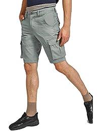 BUFFALO by FBB Cotton Cargo Shorts Grey