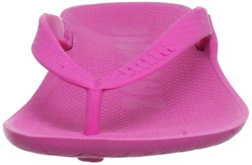 Boombuz Lilli basic naked Damen Zehentrenner Pink (Magenta)