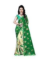 Airson Fab A5 BHAVI Green Designer Saree