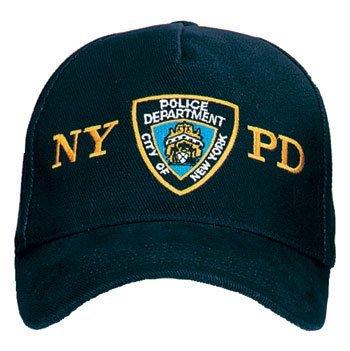 Offiziell lizenziertes NYPD Cap mit Emblem (Baseball-hüte Lizenzierte)