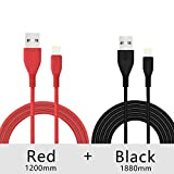 Soopii Long TPE Braided Fast Charging USB Data sync and Charge Cable, Compatible