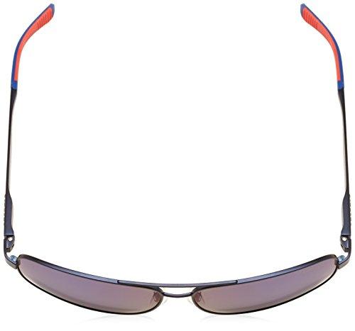 Carrera - Lunette de soleil  8014/S  Rectangulaire  - Homme MATTEBLUE