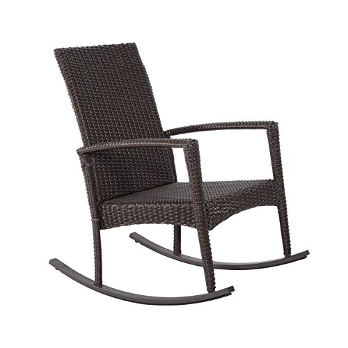 Exceptional Outsunny Rattan Rocking Chair Rocker Garden Furniture Seater Patio Bistro  Recliner Relaxer Outdoor Wicker Conservatory W/ Cushion