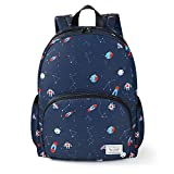 Zaino Scuola,Vemingo Zaino scolastico con stampa galassia ,Zaino versatile per adolescente,Un sacco di borsa di stoccaggio adatta a scuola, viaggi(Azul)
