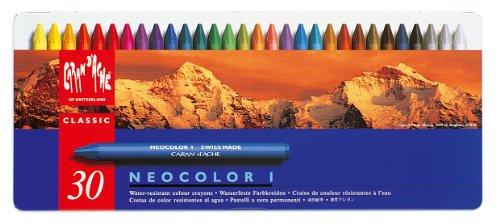 Caran d 'Ache Neocolor I Wax Öl Kreiden (30Stück)