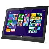 Acer Aspire Z1-621 - Ordenador All in One, pantalla táctil (1920 x 1080 Pixeles, Full HD, 16:9, Plana, N2930, Intel Celeron) Negro