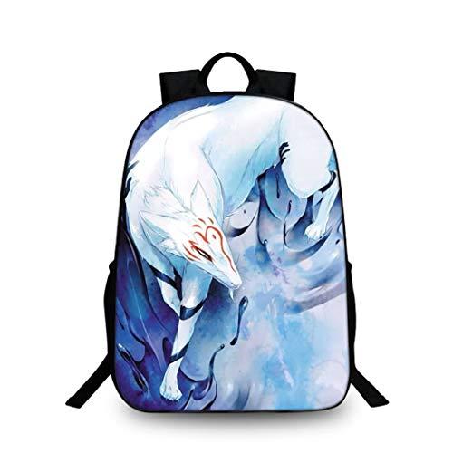 Cosstars Natsume Yuujinchou Anime Bilddruck Rucksack Backpack Büchertasche Schultasche für Schüler Jungen Mädchen /14