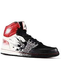 3029cfadbfa Jordan pour Homme Air Jordan1 Haute DW Dave Blanc Basketball Chaussures ...